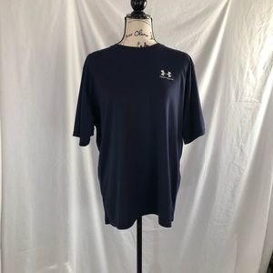 Under Armour large navy blue shirt